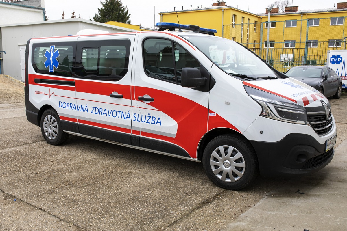 WESPA Želiezovce: Renault Trafic, Fiat Ducato