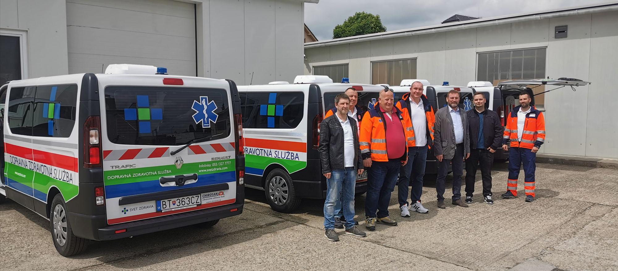 Svet zdravia: Renault Trafic, Renault Master