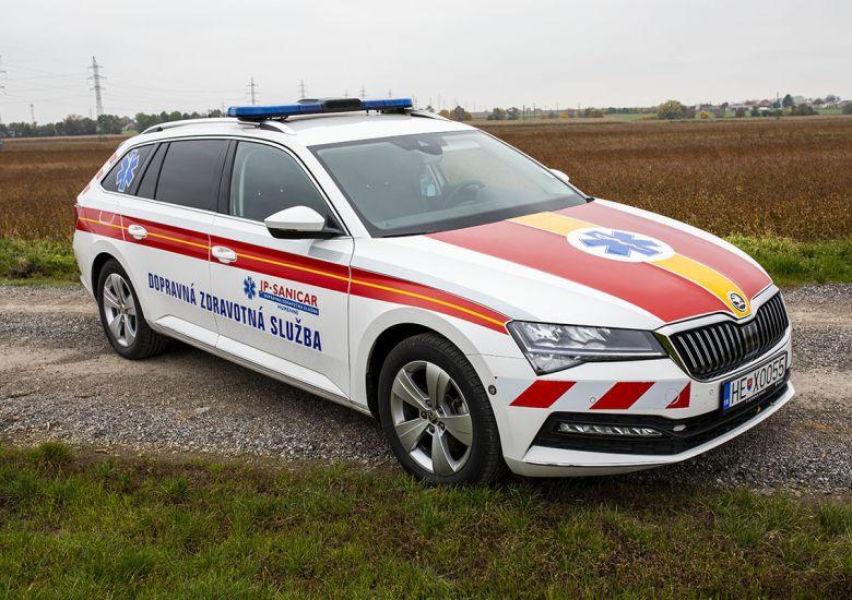 Vozidlo lekárskej služby (VLS)